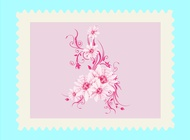 Link toPink flower design vector free
