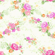 Link toPink flower vector seamless pattern 03 free