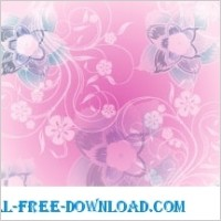 Link toPink flowers background