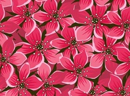 Link toPink flowers vector free