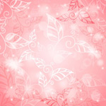 Link toPink leaf pattern background vector