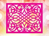Link toPink pattern vector free