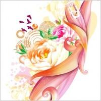 Link toPink rose vector art