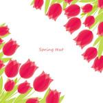 Link toPink spring flowers vector