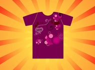 Link toPink t-shirt vector free