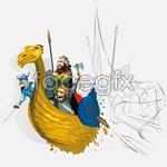 Link toPirate vector illustration
