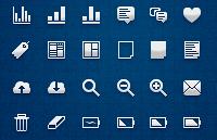 Link toPixel ui icon set psd