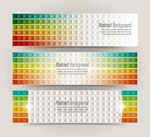 Link toPlaid color banner vector