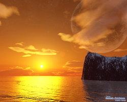 Link toPlanetary sunrise