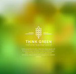 Link toPlant blur background vector