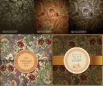 Link toPlant motifs of classical patterns vector
