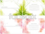 Link toPlant pattern matrix background vector