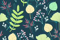 Link toPlant retro vector background
