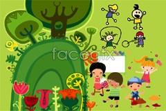 Link toPlay cute cartoon children vector illustration