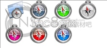Link toPocket watch-bright compass
