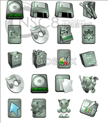 Link toPointy-eared robot series icons
