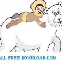 Link toPolar bear and boy