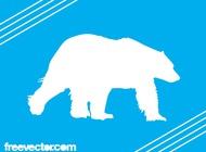 Link toPolar bear silhouette vector free