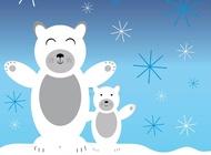 Link toPolar bears vector free