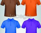 Link toPolo shirt template vector