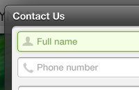 Link toPop-up contact form psd