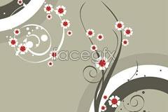 Link toPopular plum pattern background vector