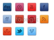 Link toPopular social media icons