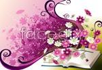 Link toPortable flower pattern vector
