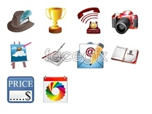 Link toPortfolio icons