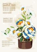 Link toPot chrysanthemum vector