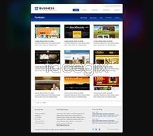 Link toPractical business page psd
