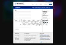 Link toPractical business web page psd