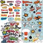 Link toPractical comic elements vector