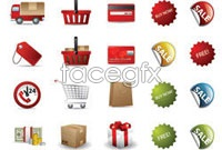 Link toPractical e-commerce icon vector