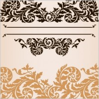 Link toPractical fashion exquisite lace pattern vector material