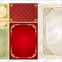 Link toPractical lace border vector material-1