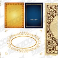 Link toPractical lace border vector material-2