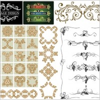 Link toPractical lace pattern vector