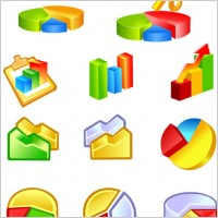 Link toPractical statistics class icon vector