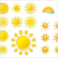 Link toPractical sun icon vector