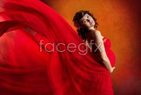 Link toPregnant women in red photo hd pictures