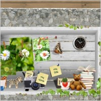 Link toPretty special photo retouching border psd layered