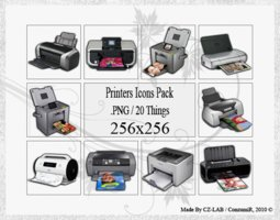 Link toPrinters icons pack