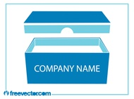 Link toProduct packaging box vector free