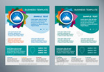 Link toProduct promotion flyer vector