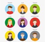 Link toProfessional player portrait icon vector