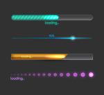 Progress bar color vector