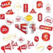 Link toPromotional tag vector