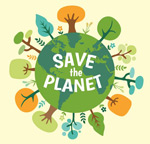Link toProtect the earth illustration vector
