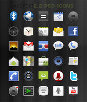 Link toPsd android 2.2 native icons